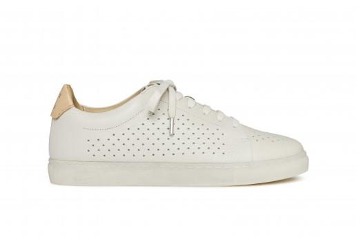 N°2 richelieu white, for woman, pairs in paris